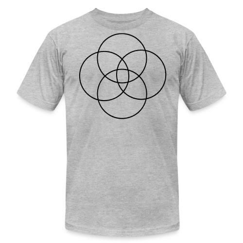 Circles - Men's Fine Jersey T-Shirt