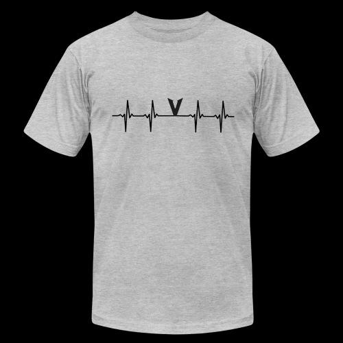 V EKG - Men's Fine Jersey T-Shirt