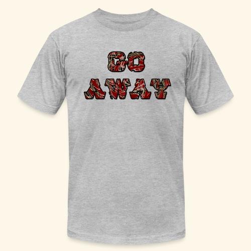 Go Away - Men's Fine Jersey T-Shirt