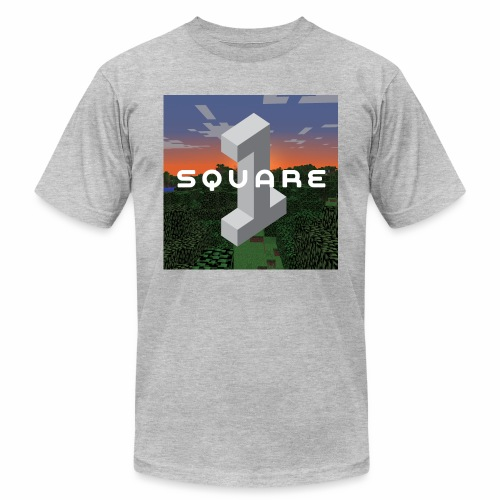 Square One Sunset Logo - Men's Fine Jersey T-Shirt