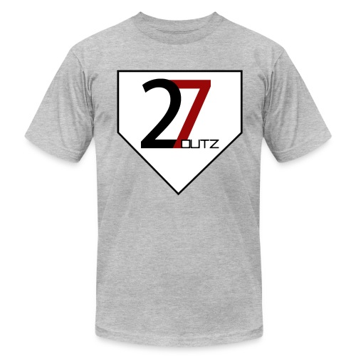 27 Outz - Home Plate - Men's Fine Jersey T-Shirt
