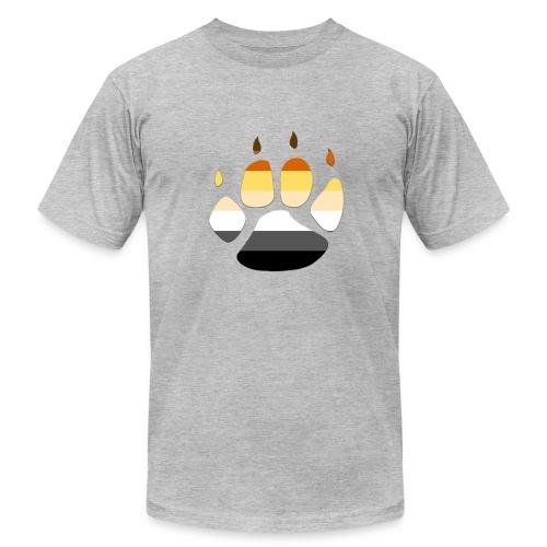 Bear PRIDE PAW - Men's Fine Jersey T-Shirt