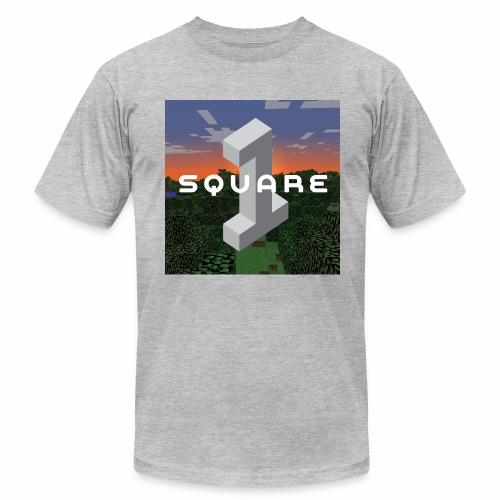 Square One Sunset Logo - Men's  Jersey T-Shirt