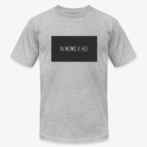 yo moms a hoe by MacWear - Men's Fine Jersey T-Shirt