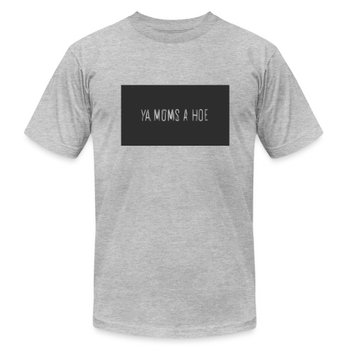 yo moms a hoe by MacWear - Men's Fine Jersey T-Shirt