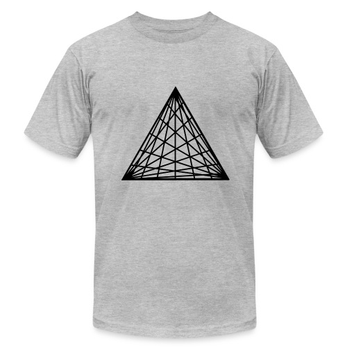 Triangles - Men's  Jersey T-Shirt