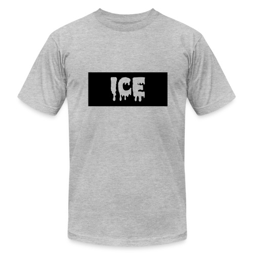 Ice Apperall Box Logo - Men's Fine Jersey T-Shirt