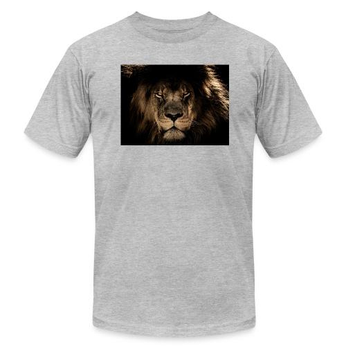 african lion 2888519 1920 - Men's Fine Jersey T-Shirt