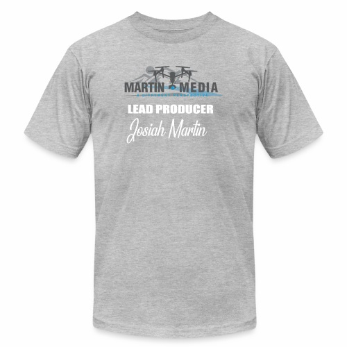 Martin Media Lead Producer - Men's Fine Jersey T-Shirt