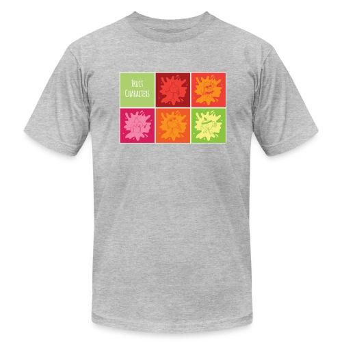 Fruit characters - Men's Fine Jersey T-Shirt