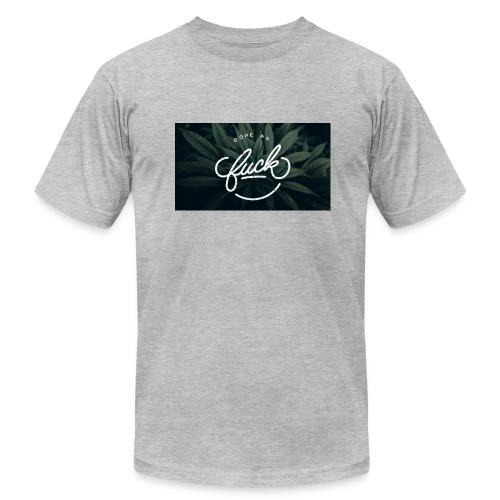 8D2C25FC 0665 49FF B913 1D6E1134C2EF - Men's Fine Jersey T-Shirt