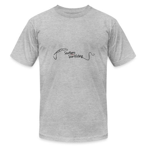 Southern Sportfishing - Black Logo - Men's Fine Jersey T-Shirt
