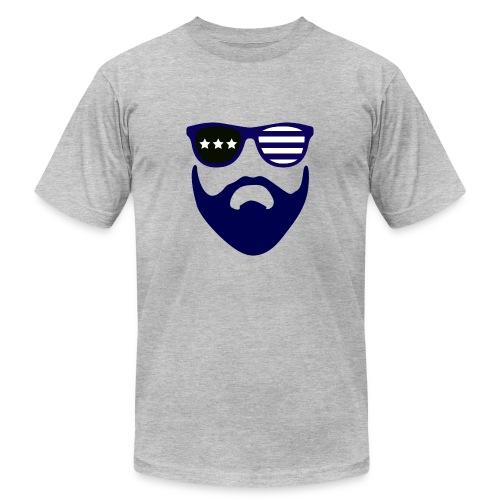 Blue beard-beard gang - Men's Fine Jersey T-Shirt
