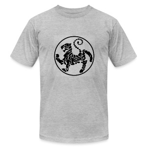 Shotokan-Tiger_black - Men's T-Shirt by American Apparel