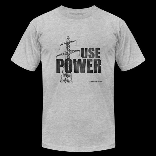 USE POWER - Men's  Jersey T-Shirt