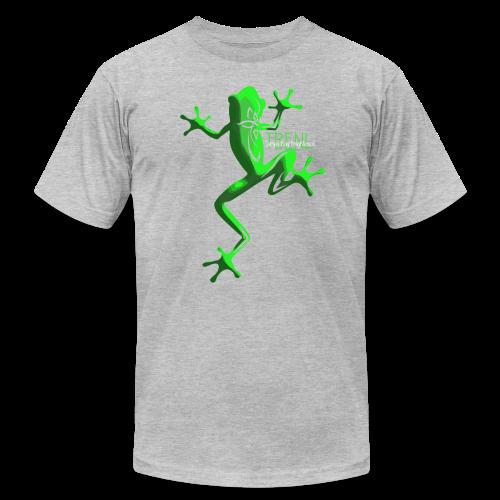 lighter w/white font - Men's  Jersey T-Shirt