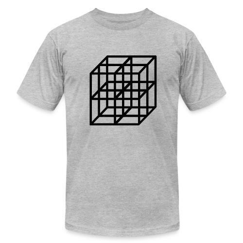 cubes - Men's Fine Jersey T-Shirt
