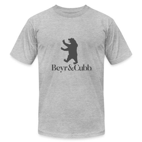 Bear and Cubb Heraldry Bear - Men's Fine Jersey T-Shirt