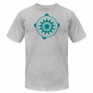 crop circles 33 - Men's Fine Jersey T-Shirt