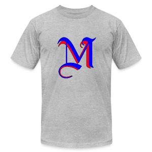 madMusic_Records - Men's Fine Jersey T-Shirt