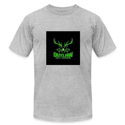Outlaw Outdoors Logo 2 - Men's Fine Jersey T-Shirt