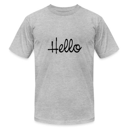 hello - Men's Fine Jersey T-Shirt