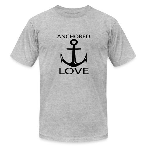 TSHIRTFINDERS -T-SHIRT ANCHOR LOVE - Men's Fine Jersey T-Shirt