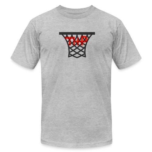 Hoop logo - Men's Fine Jersey T-Shirt