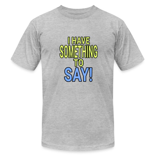 Dave The Cat Big Word tee! STS! - Men's Fine Jersey T-Shirt