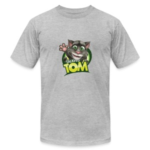 Talking_TOM_wave_preview_lowRes - Men's Fine Jersey T-Shirt
