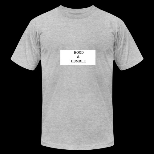 hood and humble - Men's Fine Jersey T-Shirt