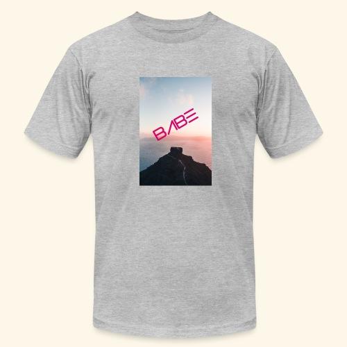 Mountain Of BABE - Men's Fine Jersey T-Shirt