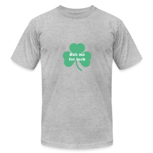 Rub me for luck - Men's Fine Jersey T-Shirt