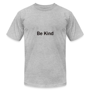 Be_Kind - Men's T-Shirt by American Apparel