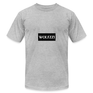 wolfzzishirtlogo - Men's T-Shirt by American Apparel