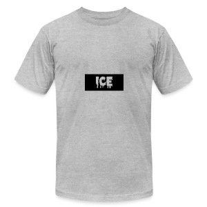 Ice Apperall Box Logo - Men's T-Shirt by American Apparel