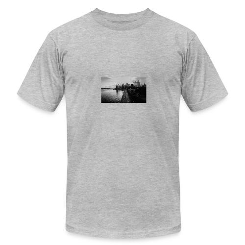Manhattan Bridge Walkway T-shirt - Men's Fine Jersey T-Shirt