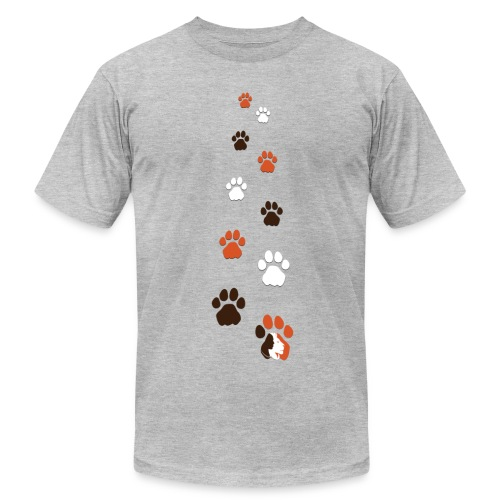 Lion Guardian Paws - Men's  Jersey T-Shirt