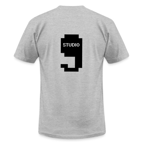 Offical Studio9 Logo Clothes - Men's Fine Jersey T-Shirt