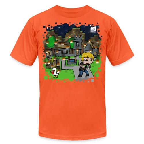 Burn it Down - Unisex Jersey T-Shirt by Bella + Canvas