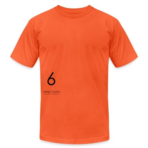 KEEPSIXHIBLACK - Unisex Jersey T-Shirt by Bella + Canvas