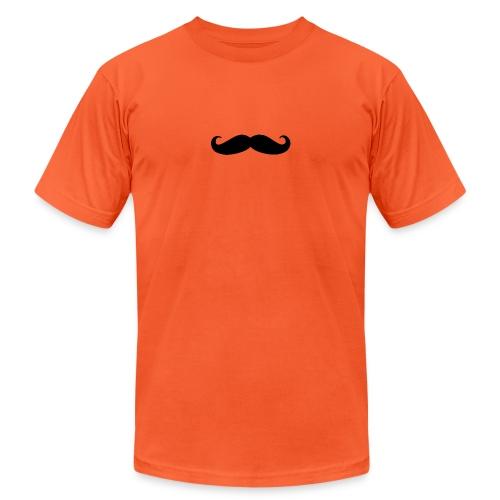 mustache - Unisex Jersey T-Shirt by Bella + Canvas