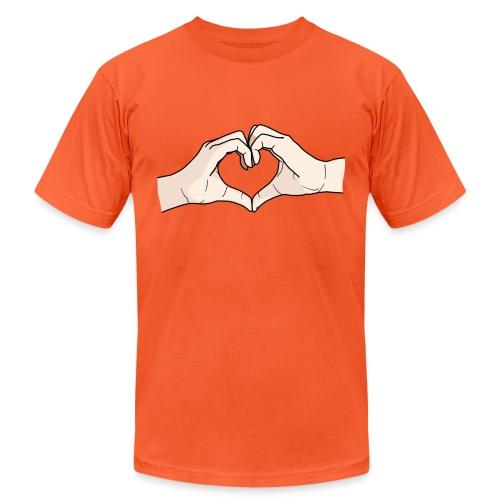 Heart Hands - Unisex Jersey T-Shirt by Bella + Canvas