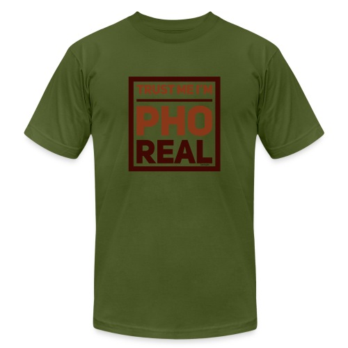 trust me i'm Pho Real - Unisex Jersey T-Shirt by Bella + Canvas