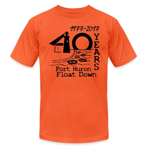 Port Huron Float Down 2017 - 40th Anniversary Shir - Unisex Jersey T-Shirt by Bella + Canvas