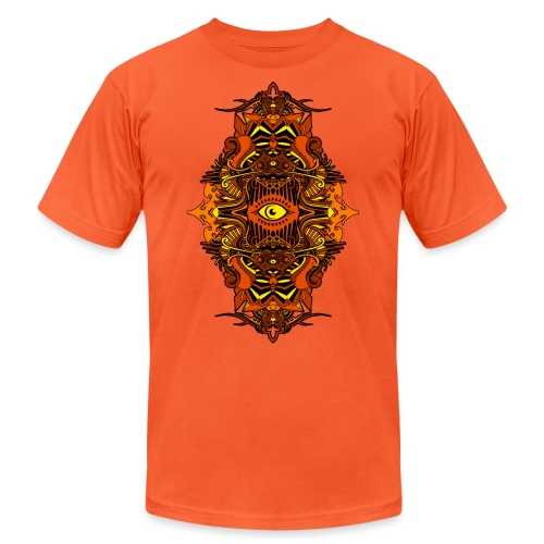 Eternal Voyage III - Fire - Unisex Jersey T-Shirt by Bella + Canvas