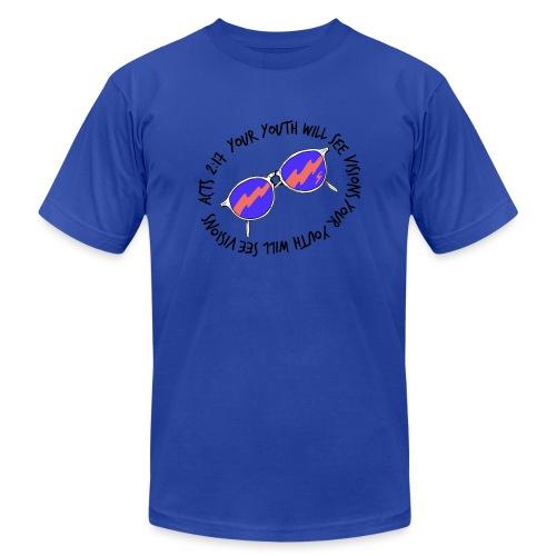oie_transparent_-1- - Unisex Jersey T-Shirt by Bella + Canvas