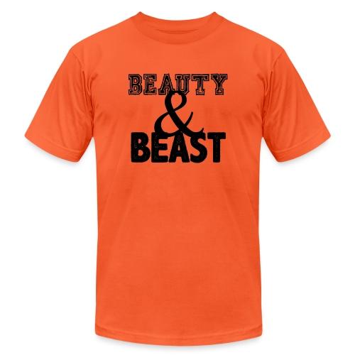 Beauty & Beast Gym Motivation - Unisex Jersey T-Shirt by Bella + Canvas