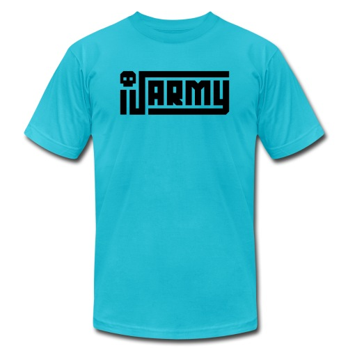 iJustine - iJ Army Logo - Unisex Jersey T-Shirt by Bella + Canvas