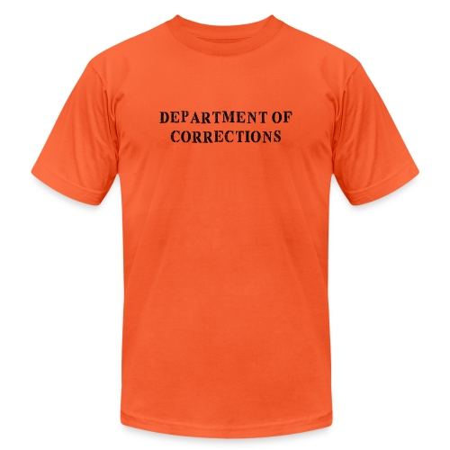Department of Corrections - Prison uniform - Unisex Jersey T-Shirt by Bella + Canvas